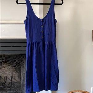 J crew royal blue dress